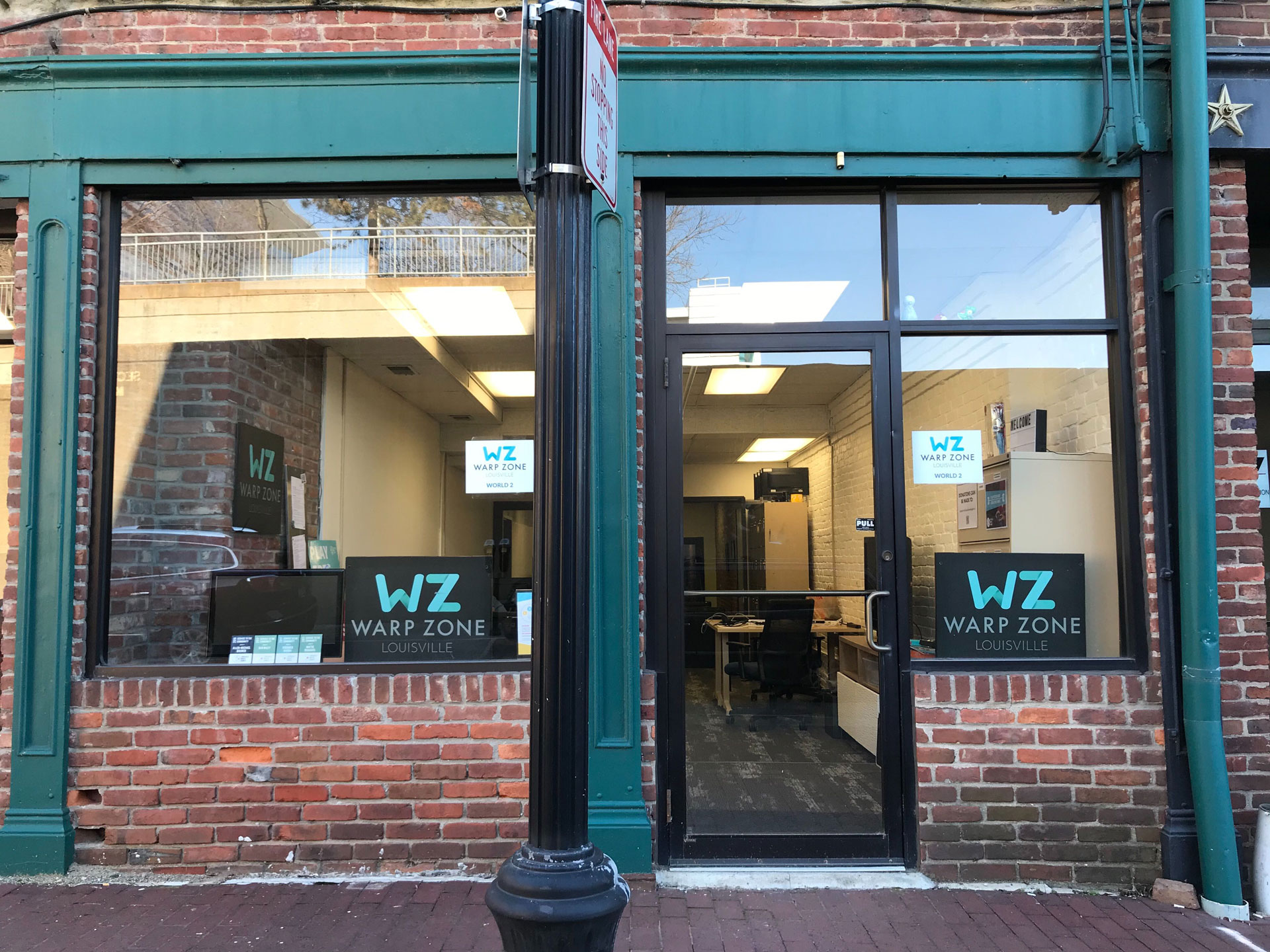 Warp Zone Louisville co-working space Louisville KY - Come take a tour!